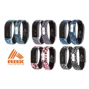 5 RBX Printed Activity Tracker with Caller ID and Notification Preview, Assorted Colors