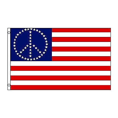 FlagsImporter Peace USA (Stars) Traditional Flag