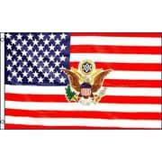 FlagsImporter USA w/ President Logo Traditional Flag