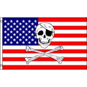 FlagsImporter USA Pirate Traditional Flag