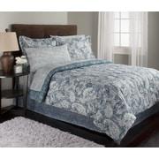 Royale Linens Jasmine Comforter Set; King