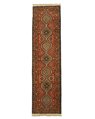 Eastern Rugs Shirvan Hand-Knotted Rust Area Rug