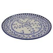 Le Souk Ceramique Azoura Stoneware Round Platter