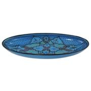 Le Souk Ceramique Sabrine Stoneware Oval Platter