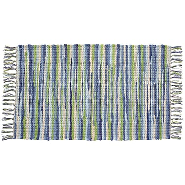 HFLT Seabreeze Hand-Woven Green/Blue Area Rug