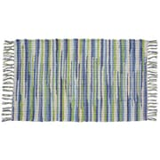 HFLT Seabreeze Hand-Woven Green/Blue Area Rug