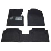 Findway – Tapis de plancher 3D 28180BB pour Hyundai Elantra berline/coupé 2011-2013, noir, anglais