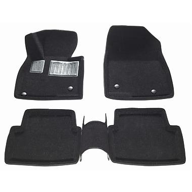 Findway - Tapis de plancher 3D 40160BB pour Mazda 3 sport berline/bicorps 2014-2018, noir, anglais