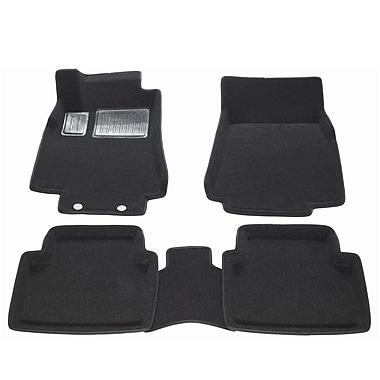 Findway – Tapis de plancher 3D 41060BB pour Mercedes-Benz Classe B 2007-2011, noir, anglais