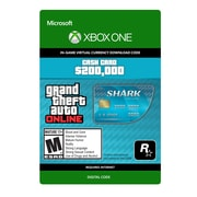 XBox One Grand Theft Auto V: Tiger Shark Cash Card [Download]