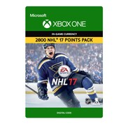 XBox One – NHL 17 Ultimate Team NHL 2800 points [Téléchargement]