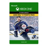 XBox One – NHL 17: Ultimate Team NHL 2200 points [Téléchargement]