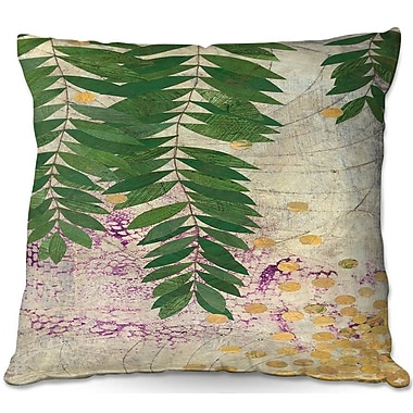 DiaNocheDesigns Paper Mosaic Studio Willow Throw Pillow; 16'' H x 16'' W x 4'' D