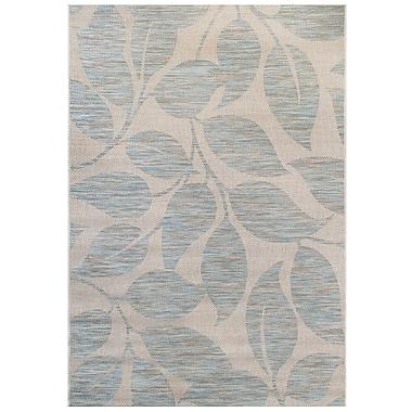 Balta Blue/Gray Indoor/Outdoor Area Rug; 7'10'' x 10'