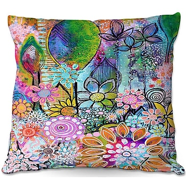 DiaNocheDesigns Robin Mead Into The Wild Throw Pillow; 18'' H x 18'' W x 5'' D