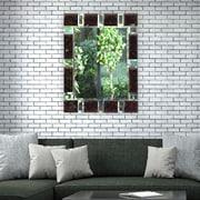 Artistic Products Breeze Point Wall Mirror; 40'' H x 30'' W x 0.5'' D