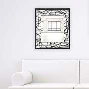 Artistic Products Breeze Point Wall Mirror; 28'' H x 24'' W x 0.19'' D