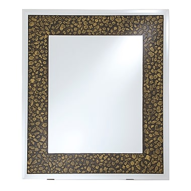 Artistic Products Breeze Point Wall Mirror; 40'' H x 30'' W x 0.19'' D