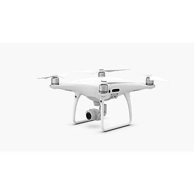 DJI – Drone quadricoptère Phantom 4 Pro + avec caméra 4K et radiocommande avec écran intégré, blanc (CP.PT.000549)