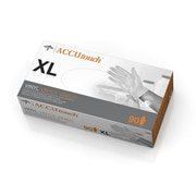 Medline Accutouch Synthetic Exam Gloves - CA Only - X-Large - 90/Box (6MDS192077)