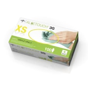 Medline Aloetouch 3G Synthetic Exam Gloves - CA Only - X-Small - 100/Box (6MDS195173)