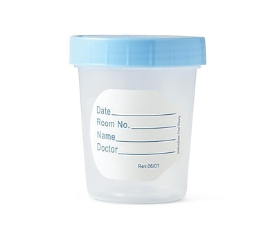 Medline General Use Specimen Containers - 4.5oz (DYND30350)