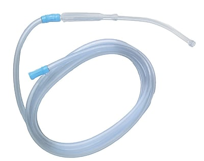 Medline Sterile Bulb Tip Yankauers - With Tubing - Vented (DYND50137)