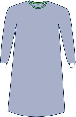 Medline Sterile Non-Reinforced Eclipse Surgical Gowns - Blue - Small - 30ct (DYNJP2005)