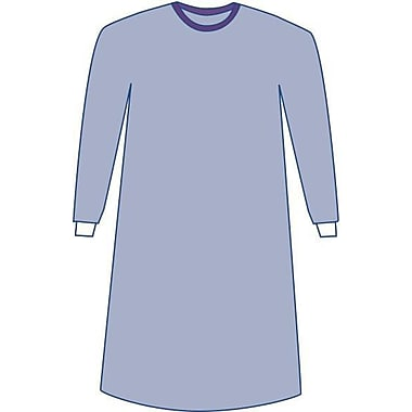 Medline Sterile Non-Reinforced Sirus Surgical Gowns with Set-In Sleeves - Blue - Small - 30ct (DYNJP2005S)