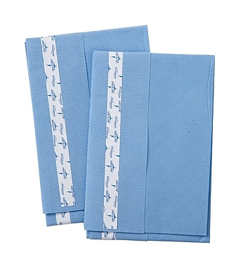 Medline Sterile Surgical Utility Drapes with Tape - 15