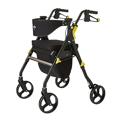 """""Medline Empower Rollator - 8"""""""" - Black (MDS86845BLK)"""""" 2427839"