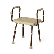 Medline Shower Chairs with Microban - No Back - Dark Bronze (MDS89740ELMB)