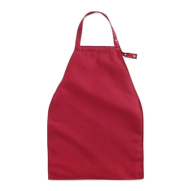 Medline Apron Style Dignity Napkins with Snap Closure - Burgundy (MDT014113BURG)
