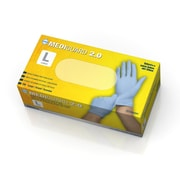 Medline MediGuard 2.0 Nitrile Exam Gloves - Powder-Free - Large - 200/Box (MG2053)
