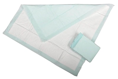 Medline Protection Plus Polymer Underpads - 23x36