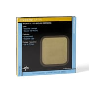 "Medline Exuderm Satin Hydrocolloid - 4""x4"" (MSC5444)"
