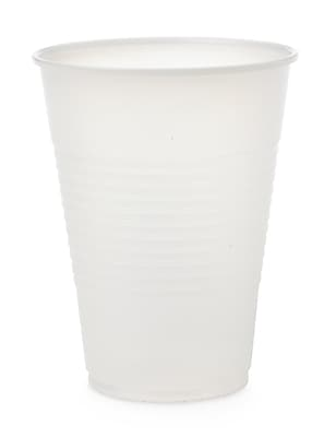 Medline Disposable Cold Plastic Drinking Cups - 9oz - Translucent - 100/Bag (NON03009) 2427695