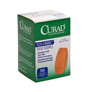 "Curad 2""X4"" Fabric Adhesive Bandages 50ct (NON25524Z)"