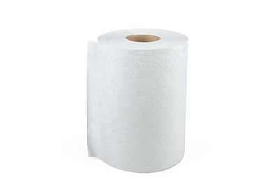 Medline Greensmart 1-Ply Standard Roll Paper Towels White 6 Rolls/Case (NON26872)