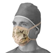 Medline Camouflage Surgical Face Masks - 50/Box (NONCAMO)