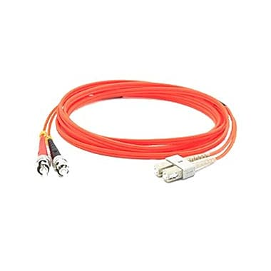 AddOn ADD-ST-LC-5M6MMF 5 m Orange LC to ST Male/Male Duplex Network Patch Cable