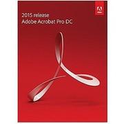 Adobe Acrobat Pro DC 2015 Software License with Document Cloud, 1 User, Windows/Mac (65257501)