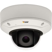AXIS® Q3505-V MK II Indoor Fixed Dome Wired Network Camera, Night Vision, Black/White