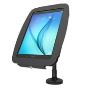 Compulocks Black Aluminum Secure Space Enclosure with Flex Arm Kiosk for Galaxy Tab A 8.0 (159B680AGEB)