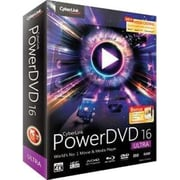 Cyberlink PowerDVD v.16.0 Ultra Video Editing Software, Windows, DVD (DVD-EG00-RPU0-01)