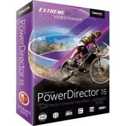 Cyberlink PowerDirector v.15.0 Ultimate Suite Video Editing Software, Windows, DVD (PUS-EF00-RPM0-01)