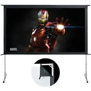 EluneVision Movie Master EV-MM-120-1.2 Fixed Surface Mount Portable Projector Screen, 120""