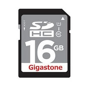 Gigastone GS-SDHCU116G-R Class 10 UHS-I 16GB SDHC Flash Memory Card