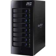 HighPoint RocketStor Tower SAS/SATA Turbo RAID Hard Drive Enclosure, Black (RS6418TS)