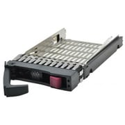 HP® Internal SAS/SATA Hard Drive Tray, Black/Silver (378343-001)